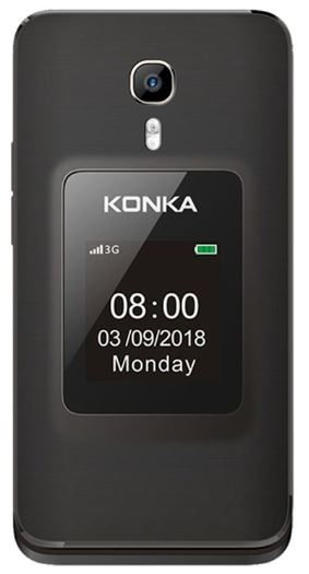 Konka FP1 – Seniors big button flip phone